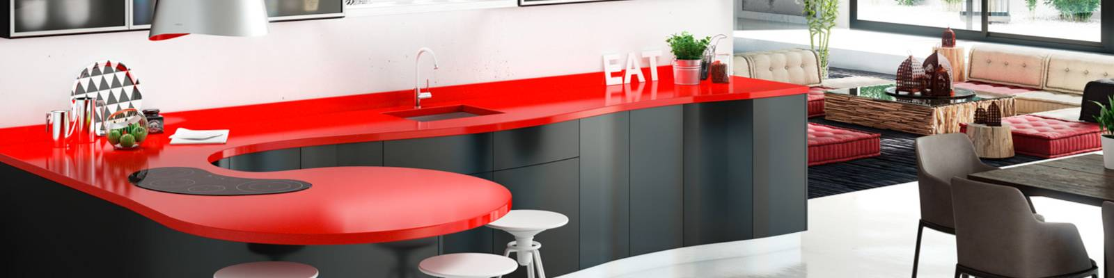 plan de travail sur mesure en ligne affordable cuisine rouge plan de travail bois for plan de. Black Bedroom Furniture Sets. Home Design Ideas